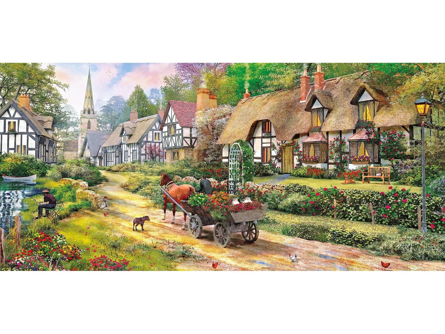 Heading Home 636 piece puzzle