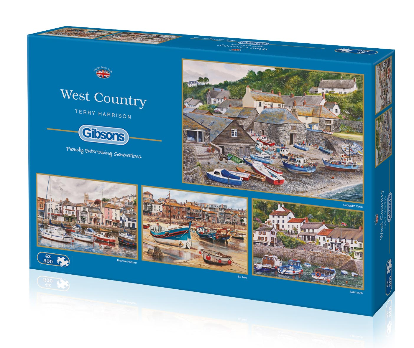 West Country 4 x 500 pce. box set