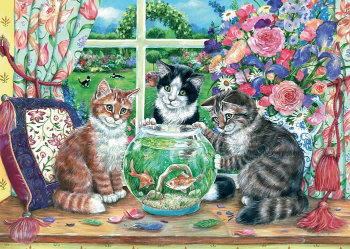 Just Looking by Debbie Cook 500 piece jigsaw puzzle