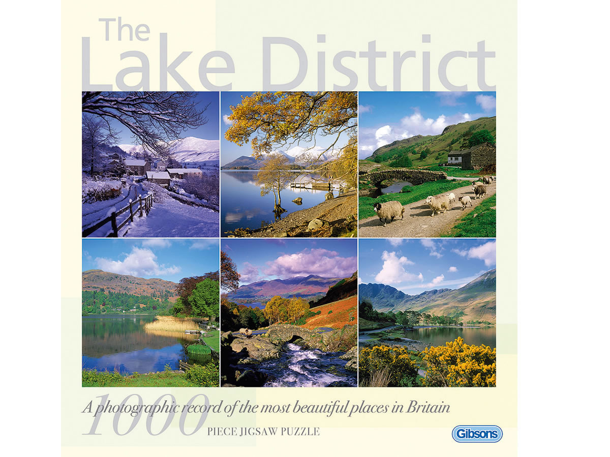 The Lake District 1000 piece jigsaw puzzle
